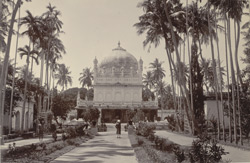 Front view of garden and mausoleum of Haidar and Tipu, Ganjam.